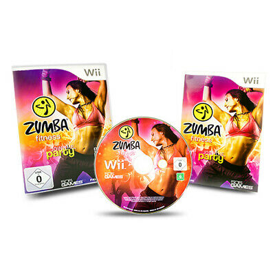Nintendo Wii Spiel ZUMBA FITNESS JOIN THE PARTY OHNE GÜRTEL in OVP u Anleitung