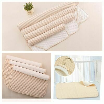 Baby Care Reusable Mat Towel Cotton Changing Pad Cover Absorbent Cloth