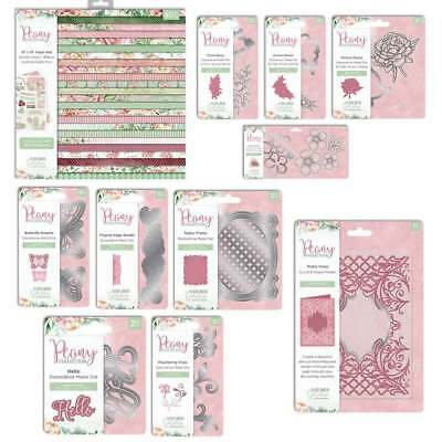 Crafters Companion - Nature's Garden - Peony Collection - Cardmaking