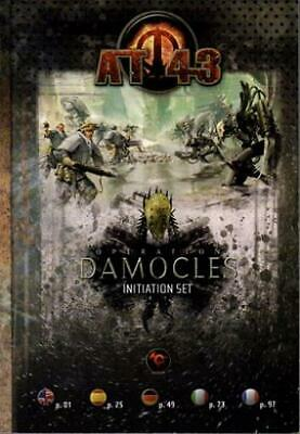 Rackham AT-43 Initiation Set - Operation Damocles - Pocket Rulebook & Cam SC EX