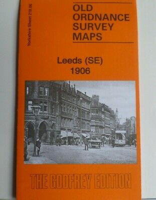 Old Ordnance Survey Detailed  Maps Leeds (SE) 1906 Sheet 218.06  Godfrey Edition