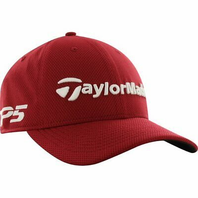 2fa615a31a5 TaylorMade Tour New Era 39Thirty Structured Fit Cardinal Headwear Men M L