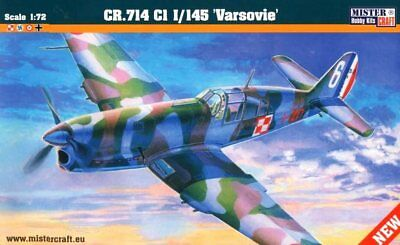 Caudron Cr 714 C1 (Polish, French, Finnish & Luftwaffe Mkgs) 1/72 Mistercraft