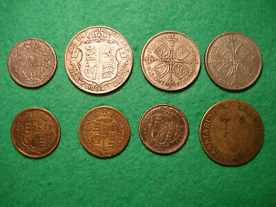 A group of  Contemporary Forged British milled coins 1818-1929 FREEPOST [F-43]