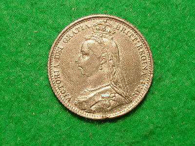A Contemporary Forged 1887 British Sixpence FREEPOST [F-44]