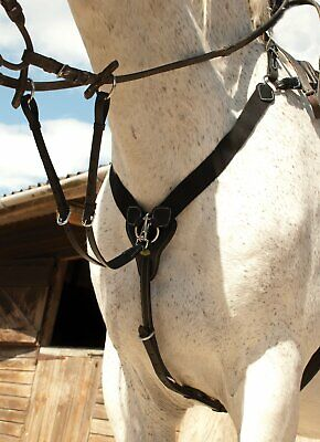 Rhinegold V-Check Horse Hunting Breastplate Detachable Martingale All Sizes