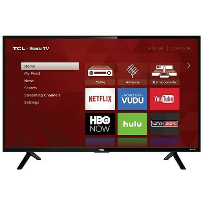 "Televisor HD LED (32S301)TCL 32"" Class (720P) Roku Smart"