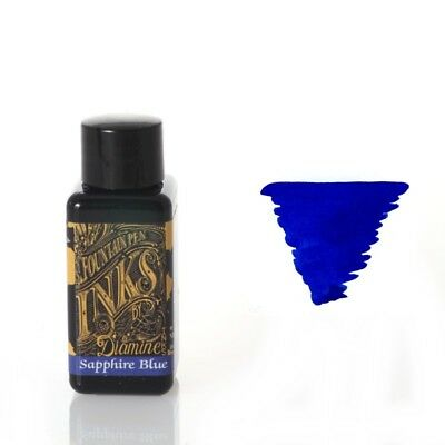 Diamine - Fountain Pen Ink, Sapphire Blue 30ml