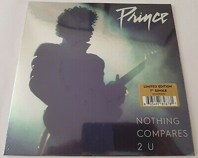 """PRINCE NOTHING COMPARES 2 U LIMITED EDITION NEW/SEALED EU 7"""" vinyl"""