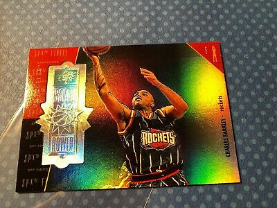 1998/99 Upper Deck SPX Charles Barkley /250 Spectrum Star Power Finite #150 Rare
