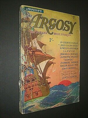 The Argosy. 1926. Short Story Mag. Lewis Carroll. Dracula. Sapper. Lord Dunsany