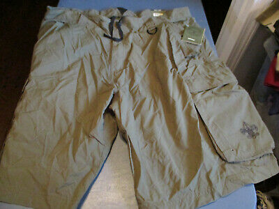 NWT Boy Scouts of America   Centennial Uniform Short OLIVE YOUTH LARGE