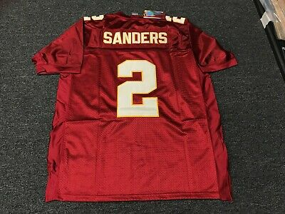 100% authentic a0318 c7caf reduced florida state seminoles 2 deion sanders red jersey ...