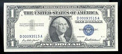 Series Of 1957 United States Silver Certificate $1 Note Ow697