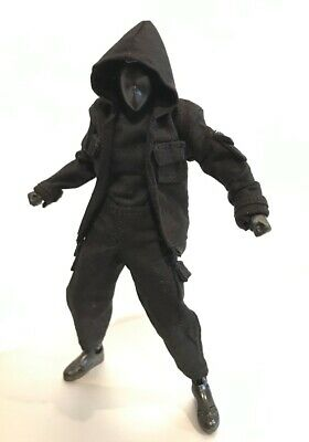 PB-OPS: 1/12 scale Black Ops outfit Set for SHF Body-Kun (No Figure)