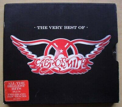 Aerosmith Very Best Of Cd 18 Track In Slipcase 2006 Eu