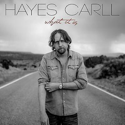 CARLL HAYES  What It Is  (Album 2019)  CD   NEU & OVP  08.03.2019