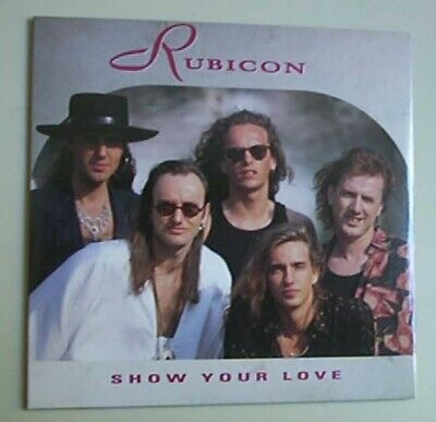 Rubicon Show Your Love Cd Single 1 Track In Card P/s Dutch