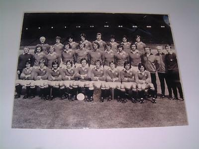 Manchester United Fc 1974 ? Squad Photograph
