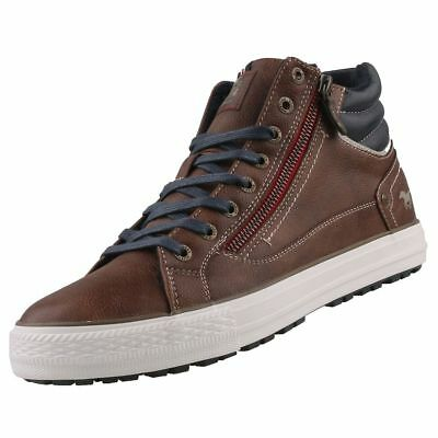 Chaussures Basses Booty Neuf Pour Montantes Homme Mustang Baskets 5cR3ASL4jq