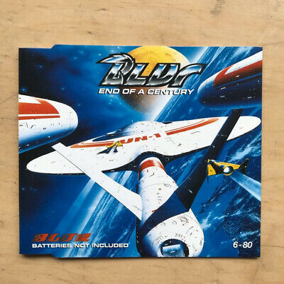Blur End Of A Century Cd Single 1994 With  Red Necks + Alex's Song Uk