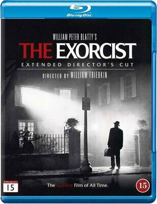 The Exorcist (1973) Extended Director's Cut Blu-Ray Import BRAND NEW Free Ship