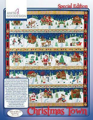 Anita Goodesign Christmas Town Mix & Match Special Edition 14AGSE