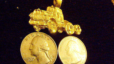 bling gold plated MYTH LEGEND LUCKY truck pendant charm hip hop necklace JEWELRY