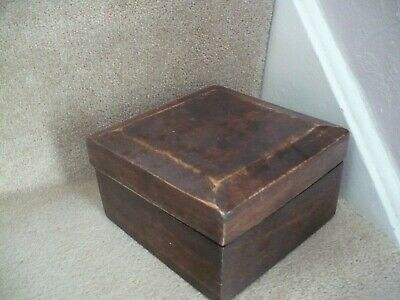 A Beautiful Vintage Wooden Box A Wonderful Design And Colour