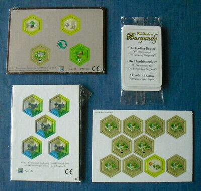 Castles of Burgundy Promo Mini-expansions