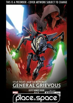 (Wk11) Star Wars Age Of Republic: General Grievous #1C - Hits Var - Pre 13Th Mar