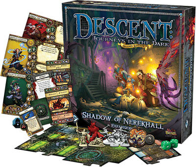 Descent 2nd Edition: Shadow of Nerekhall Expansion - (New)
