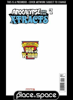 (Wk11) Age Of X-Man: Apocalypse And X-Tracts #1C - Secret Var - Pre 13Th Mar