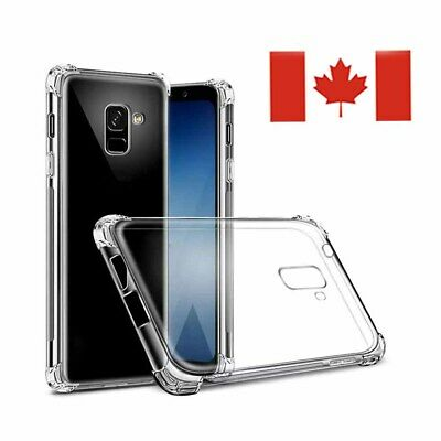 For Samsung Galaxy S8 S8 Plus S9 S10-Clear Case Soft TPU Bumper Cover ShockProof