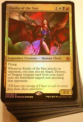 ***Custom Commander Deck*** Angels EDH Kaalia of the Vast Magic Cards