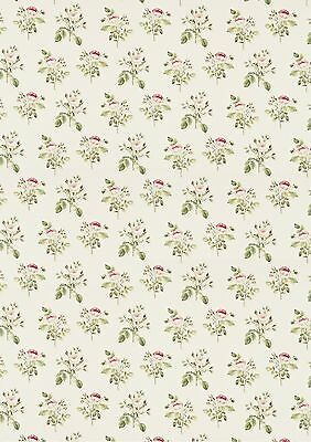 dolls house wallpaper roses
