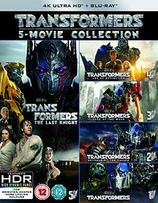 Transformers: 5-Movie Collection [Blu-ray], DVD, New, FREE