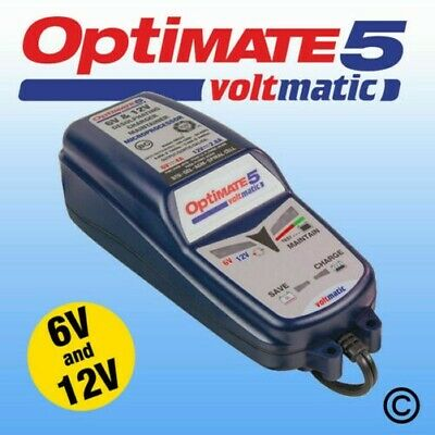 Optimate 5 Voltmatic 6V & 12V Automatique Moto Chargeur Optimiseur