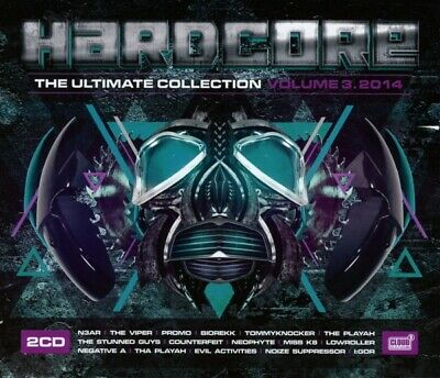 Various - Hardcore Ultimate Collection 03/2014 CD (2) cloud 9 NEW
