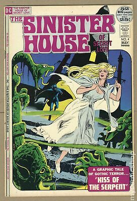 Sinister House of Secret Love #4 1972 VG/FN 5.0