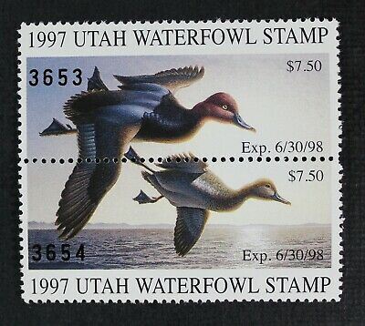 CKStamps: US State Duck Stamps Collection Utah Mint NH