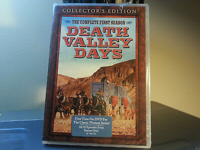 NEW 3 Disc DVD Set ** Death Valley Days: The Complete First Season (DVD, 2016)