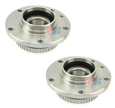 Pair Set of 2 Front WJB Wheel Bearing and Hub Assies Kit for BMW E70 X5 E71 X6