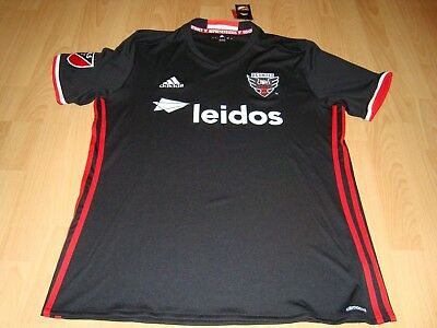 Trikot DC United Washington, Major League Soccer USA, Größe Large: neu!