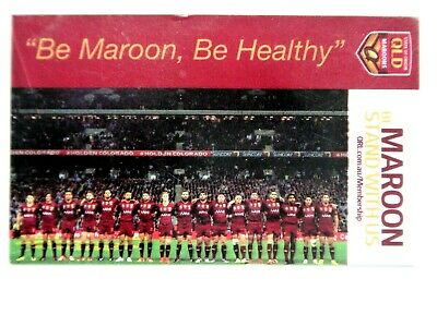 2015 Team Shot  Iga Qld State Of Origin Stand With Us Player Card