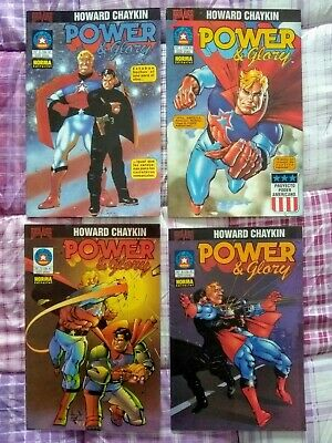 Power And Glory (Completa) 4 Números. Norma, Por Howard Chaykin