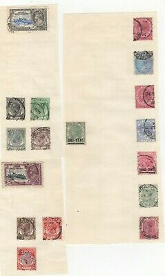 A very nice Straits Settlements group of Pages