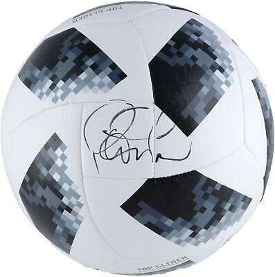 30552f35f92 Philippe Coutinho F.C. Barcelona Sign 2018 FIFA World Cup Telstar Soccer  Ball