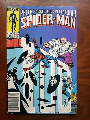Marvel comics Peter Parker Spectacular Spiderman 100