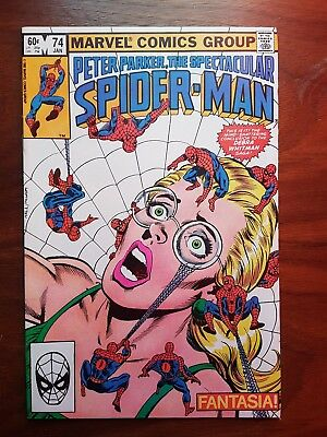 Marvel comics Peter Parker Spectacular Spiderman 74